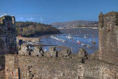 Views around Conwy Royalty Free Stock Photos