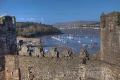 Views around Conwy Royalty Free Stock Photos
