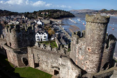 Views around Conwy Royalty Free Stock Photo