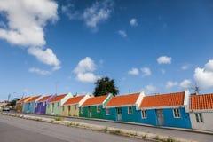 Views around Curacao Caribbean island Royalty Free Stock Photos