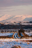 Views around Malltreath. Pools and Snowdonia National Park in winter Stock Photo