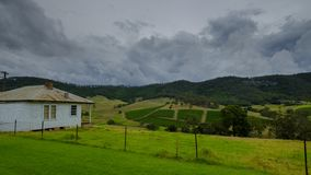 Views around Millfield and Cessnock in the Hunter Valley, NSW, Australia royalty free stock photo