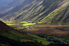 Views around the Ogwen valley Royalty Free Stock Images
