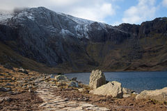 Views around the Ogwen valley Stock Images