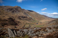 Views around the Ogwen valley Stock Photography