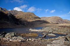 Views around the Ogwen valley Royalty Free Stock Photos