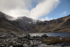 Views around the Ogwen valley Stock Image