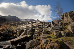 Views around the Ogwen valley Stock Photos