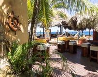 Views around Punda coastal cafe Royalty Free Stock Images