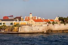 Views around Punda - Fort Amsterdam Royalty Free Stock Images