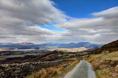 Views around Snowdonia Royalty Free Stock Image