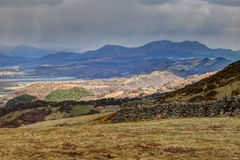 Views around Snowdonia Royalty Free Stock Photos