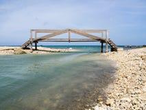 Views around St Michiel salt panbridge Stock Photo