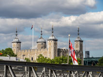 Views around Tower of London Royalty Free Stock Images