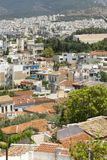 Views of Athens, buildings, Greece, cityscape. View of Athens, buildings, Greece, cityscape, roof with tiles Stock Images