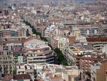 Views of Barcelona. Barcelona cityscape, Europe Stock Photo