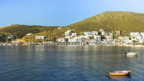 Views of the Bay and Kythnos Greek island. Travel. Stock Photography