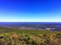 The views from Bear Mountain Connecticut. The views from Bear Mountain is a prominent peak of the southern Taconic Mountains. It lies within the town of stock photo