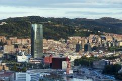 Views of Bilbao city. Stock Image