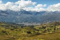 Views of Black mountain range, Peru Stock Photos