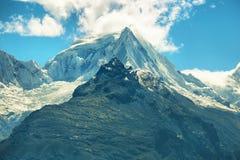Views of Black mountain range, Peru Stock Images