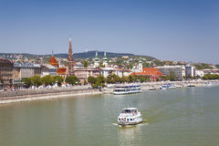 Views of the Buda side of Budapest Stock Image
