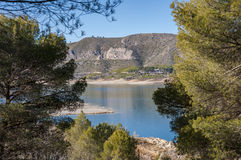 Views of Buendia Reservoir Stock Photography