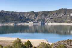 Views of Buendia Reservoir Royalty Free Stock Photography