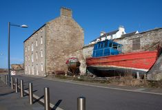 Views of Burghead Royalty Free Stock Photo