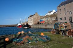 Views of Burghead Royalty Free Stock Image
