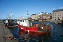 Views of Burghead Stock Photo