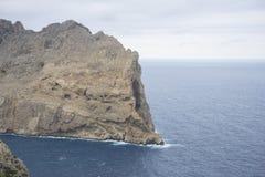 Views of Cape formentor in the tourist region of Mallorca, locat. Ed northeast of the island Stock Photo