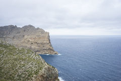 Views of Cape formentor in the tourist region of Mallorca, locat Stock Photos