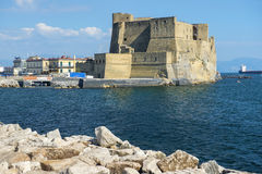 Views of Castel dell`Ovo, Naples, Italy Royalty Free Stock Images