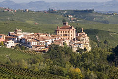 Views of the Castle of Barolo Stock Photo