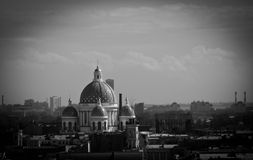 Views of the cathedral from the viewing platform Royalty Free Stock Images