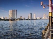 Views of the Chaopraya river Stock Photo