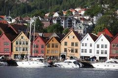 Views of city in Bergen Stock Photos