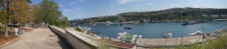 Views of the city of Sevastopol in May 2014 Royalty Free Stock Photos