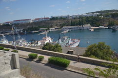 Views of the city of Sevastopol in May 2014 Stock Photos