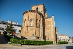 Views of the city Soria. SORIA IN CASTILLA AND LEON, SPAIN, MAY 18,2018: Details of Soria royalty free stock photo