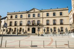 Views of the city Soria. SORIA IN CASTILLA AND LEON, SPAIN, MAY 18,2018: Details of Soria stock photos