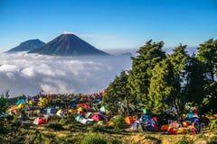 Prau mountain royalty free stock photo