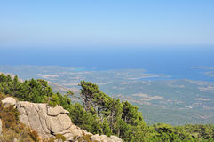 Views of the coast Corsica Royalty Free Stock Photography