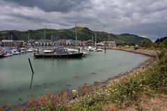 Views from Conwy Marina Royalty Free Stock Photo