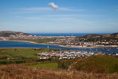 Views from Conwy Mountain Royalty Free Stock Image