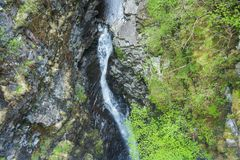 Views of Corrieshalloch Gorge royalty free stock photography