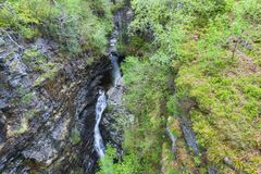 Views of Corrieshalloch Gorge stock images