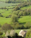 Views from Crickley Hill Country park near Gloucester Stock Photos