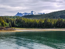 Views on a cruise. This image was captured while on a cruise  from Haines Harbor to Juneau,  Alaska Stock Photo
